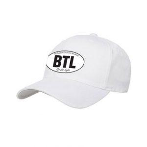 Be The Light White Baseball Hat