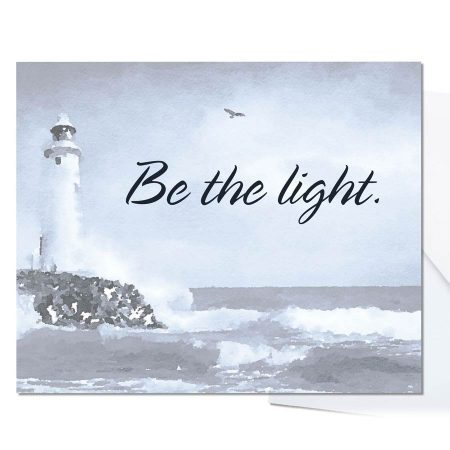Be The Light Notecards